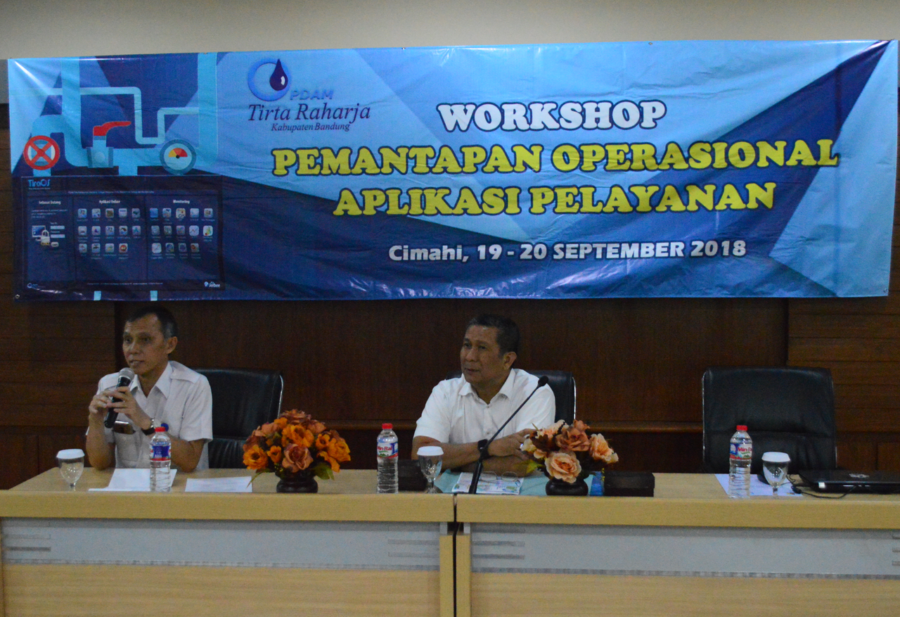 Workshop Pemantapan Operasional Aplikasi Pelayanan 19-20 September 2018