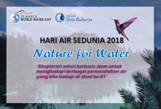 Peringatan Hari Air Sedunia Tahun 2018 Usung Tema Nature for Water